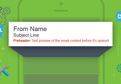 Preheader text to improve email open rates
